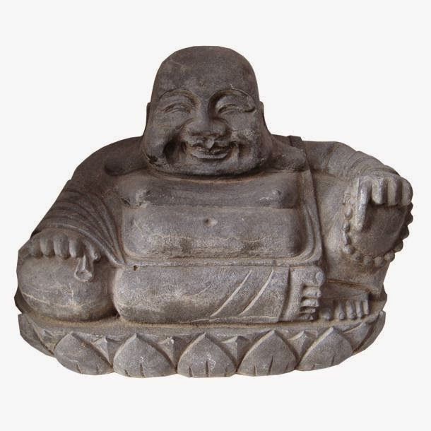 ACHICA Antiques Laughing Buddha