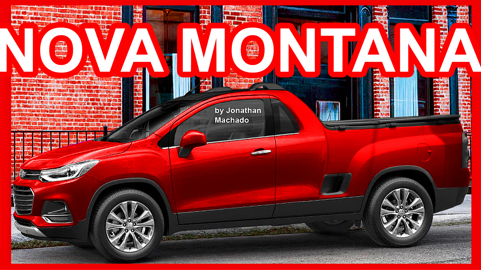 CARWP: Nova Chevrolet Montana 2018 @ Tracker Pickup-Mini ...