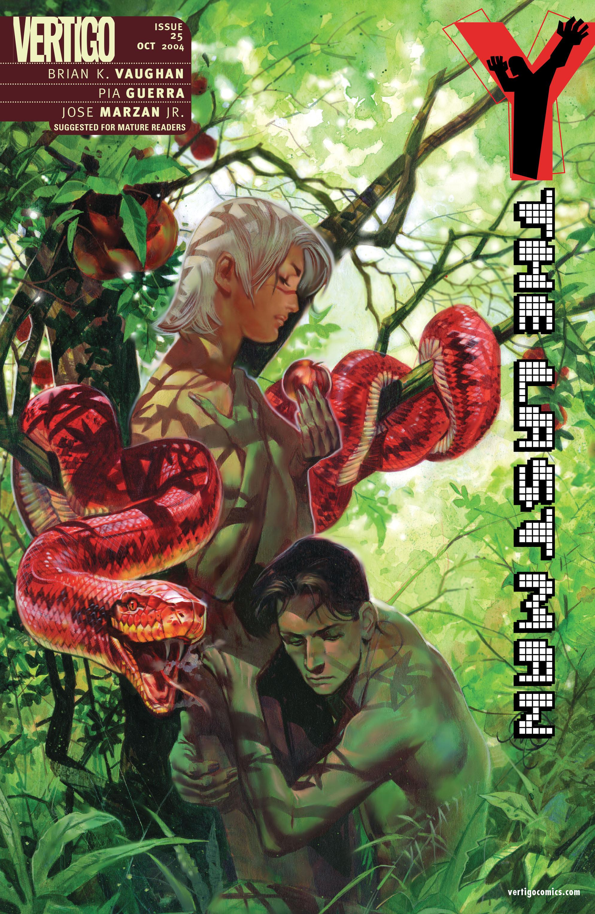 Y: The Last Man (2002) 25 Page 1