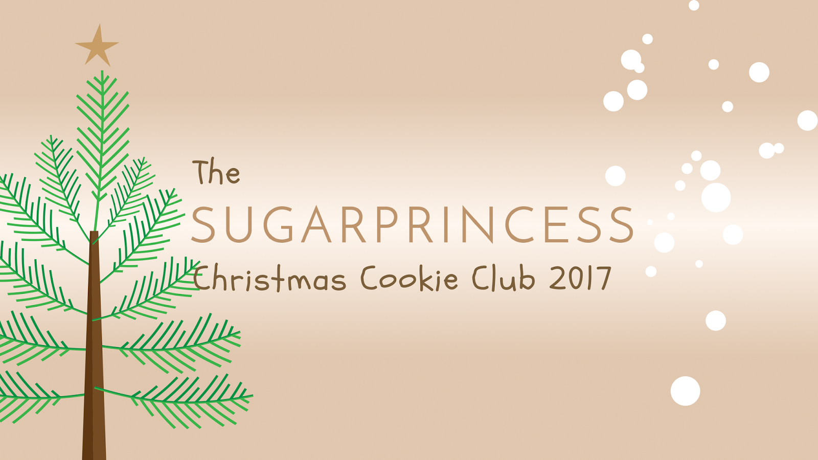 The Sugarprincess Christmas Cookie Club 2017
