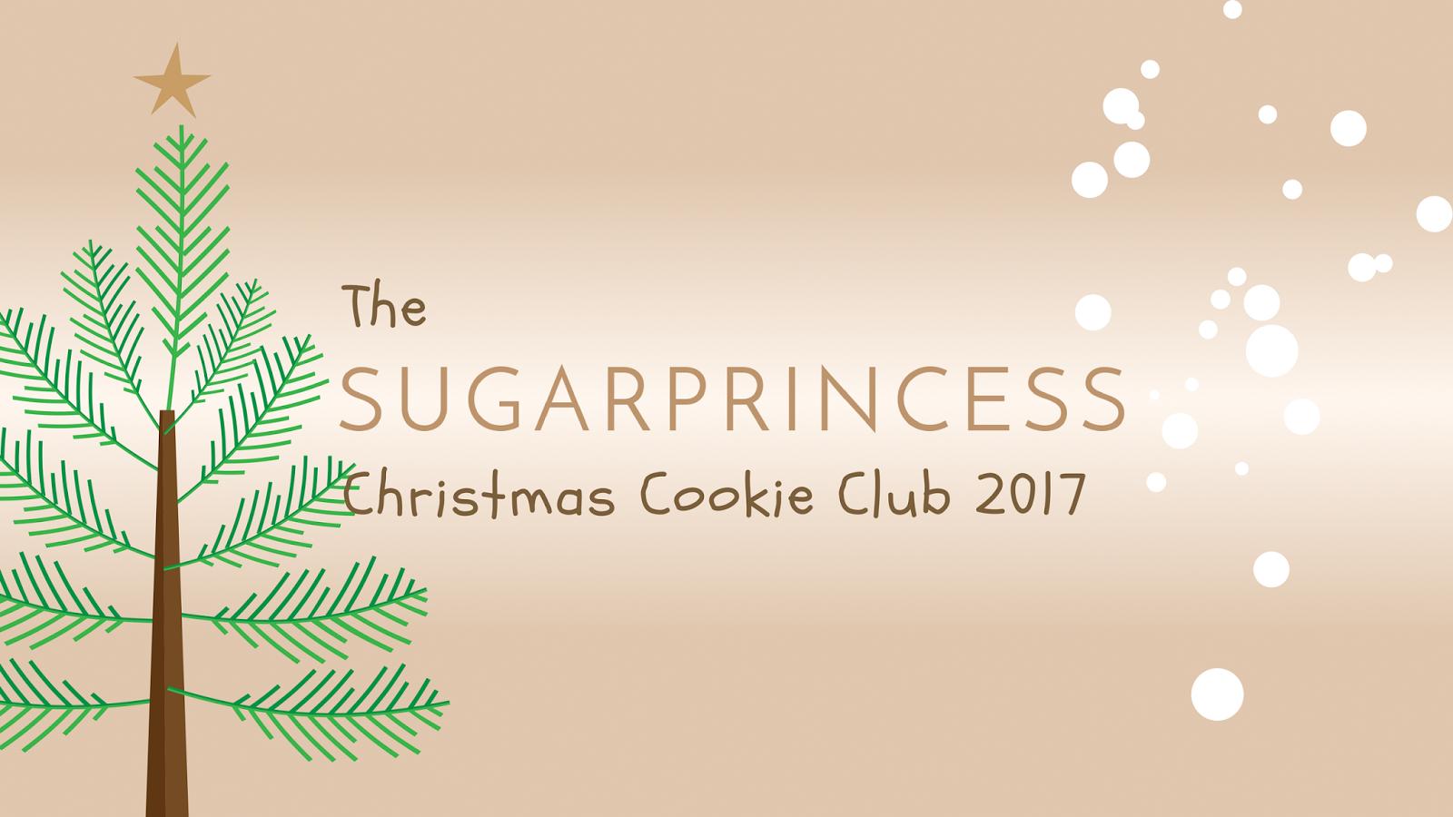 The Sugarprincess Christmas Cookie Club 2017