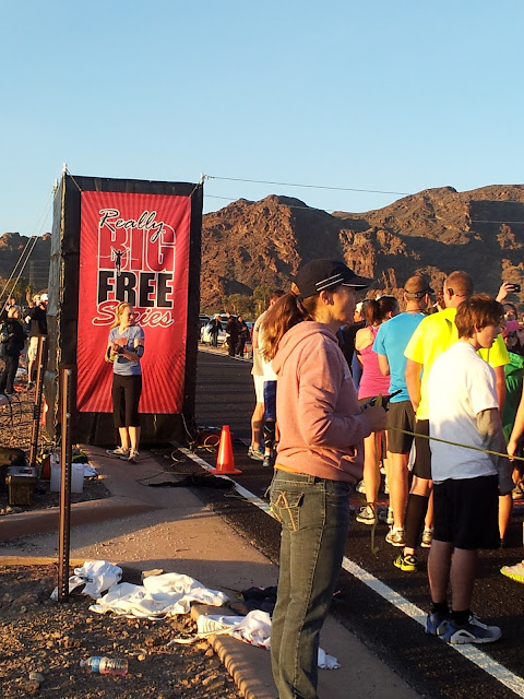 Boulder Beach Really Big Free Half Marathon