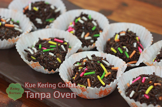 Resep Kue Kering Cokelat Tanpa Oven