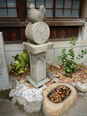 鳥の筧と手水鉢