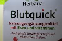 Verpackung vorne: Herbaria Blutquick, bio, 1er Pack (1 x 500 ml)