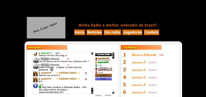 Rádio Administrável Grátis ( Web Site )