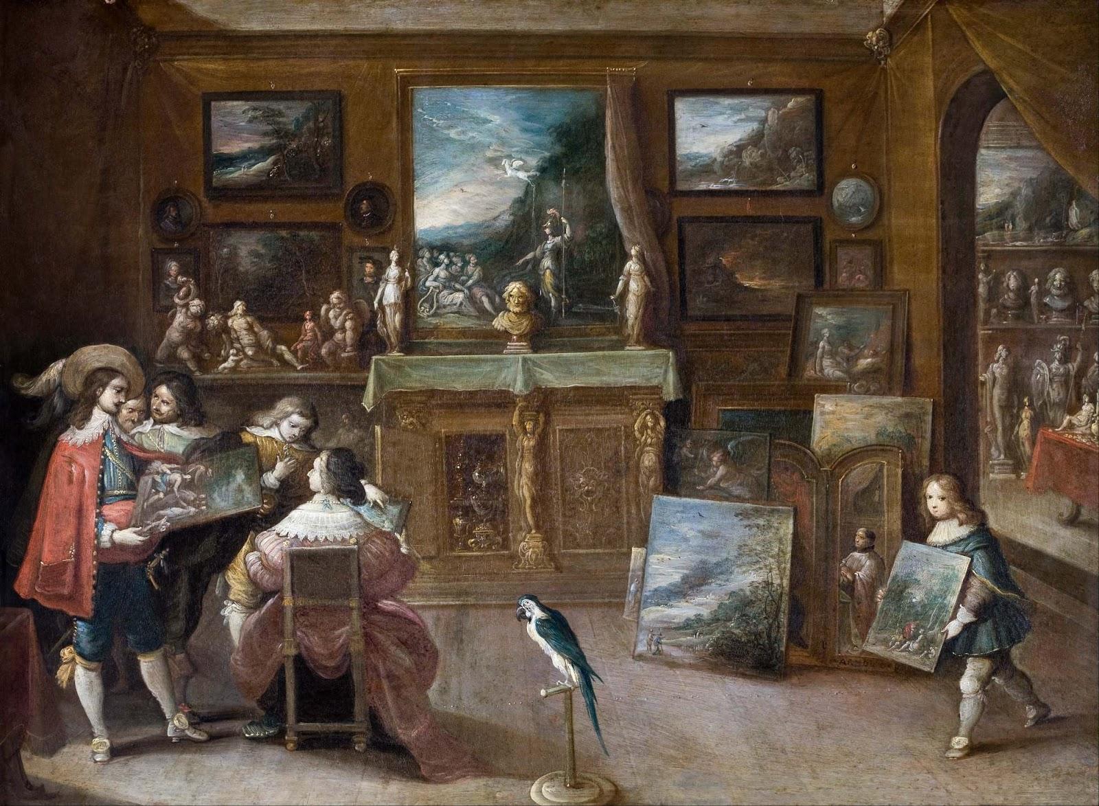 Spencer Alley Frans Francken Ii 17th Century