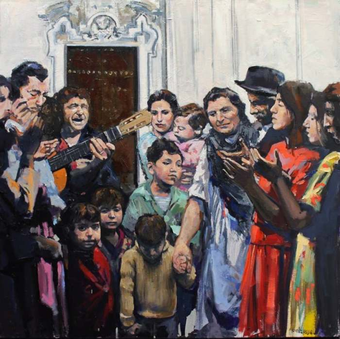 Испанский художник. Fernando Benitez Gabriel