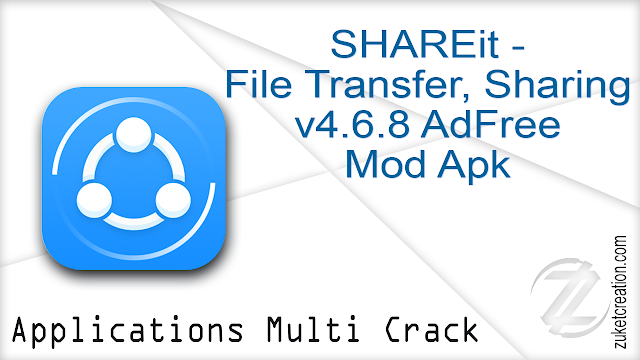 SHAREit – File Transfer, Sharing v4.6.8 AdFree Mod Apk