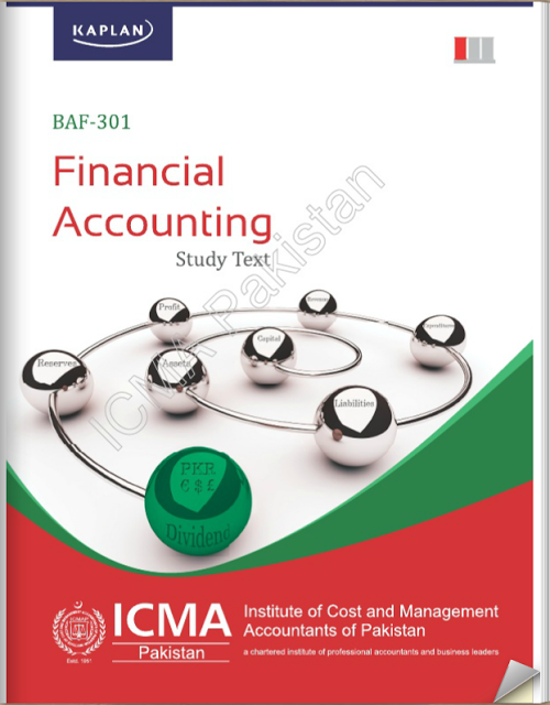 BAF-301: Financial Accounting- Study Text by ICMAP