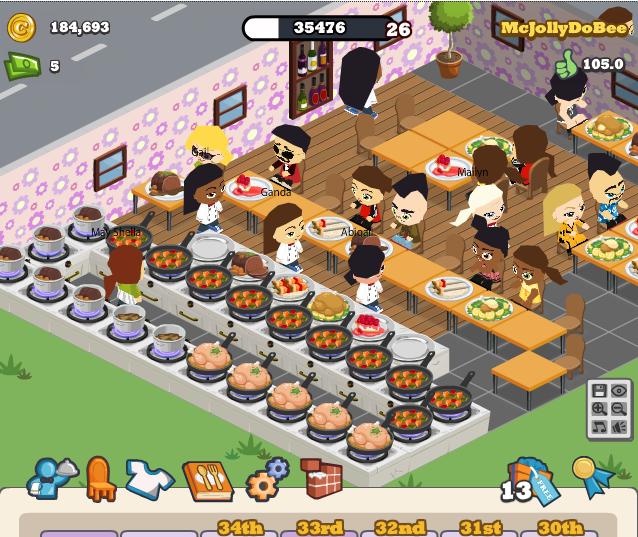 Facebook Game Master: Cafe World