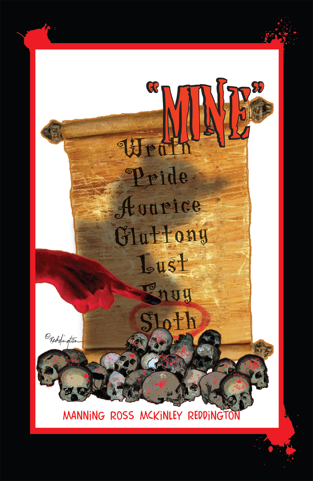 Read online Nightmare World comic -  Issue # Vol. 1 Thirteen Tales of Terror - 98