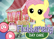 My Little Pony Baby Fluttershy Day Care juego