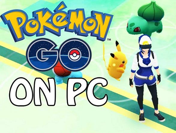Pokemon go for pc free download on windows computer, desktop.
