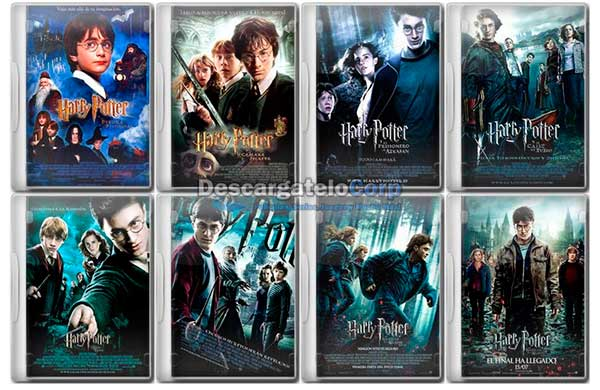 Harry Potter Saga Completa HD 1080p Latino