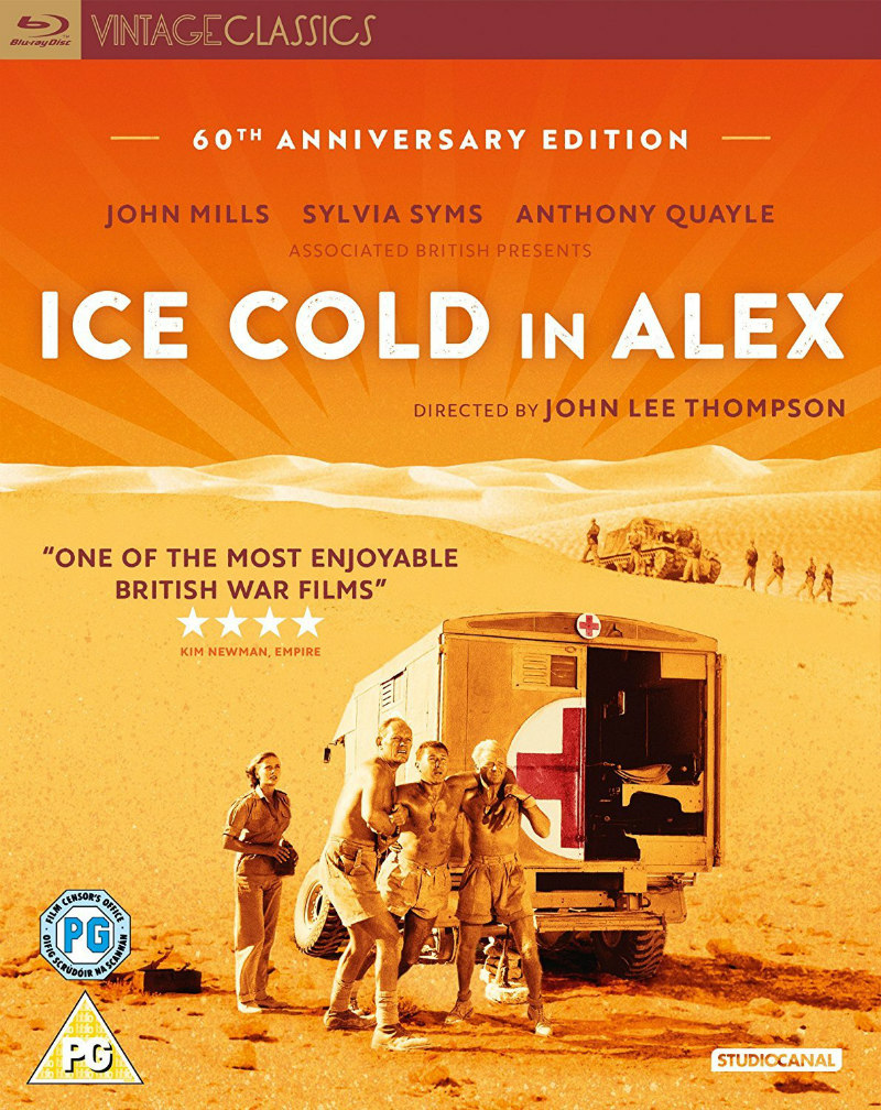 ICE COLD IN ALEX studiocanal blu-ray