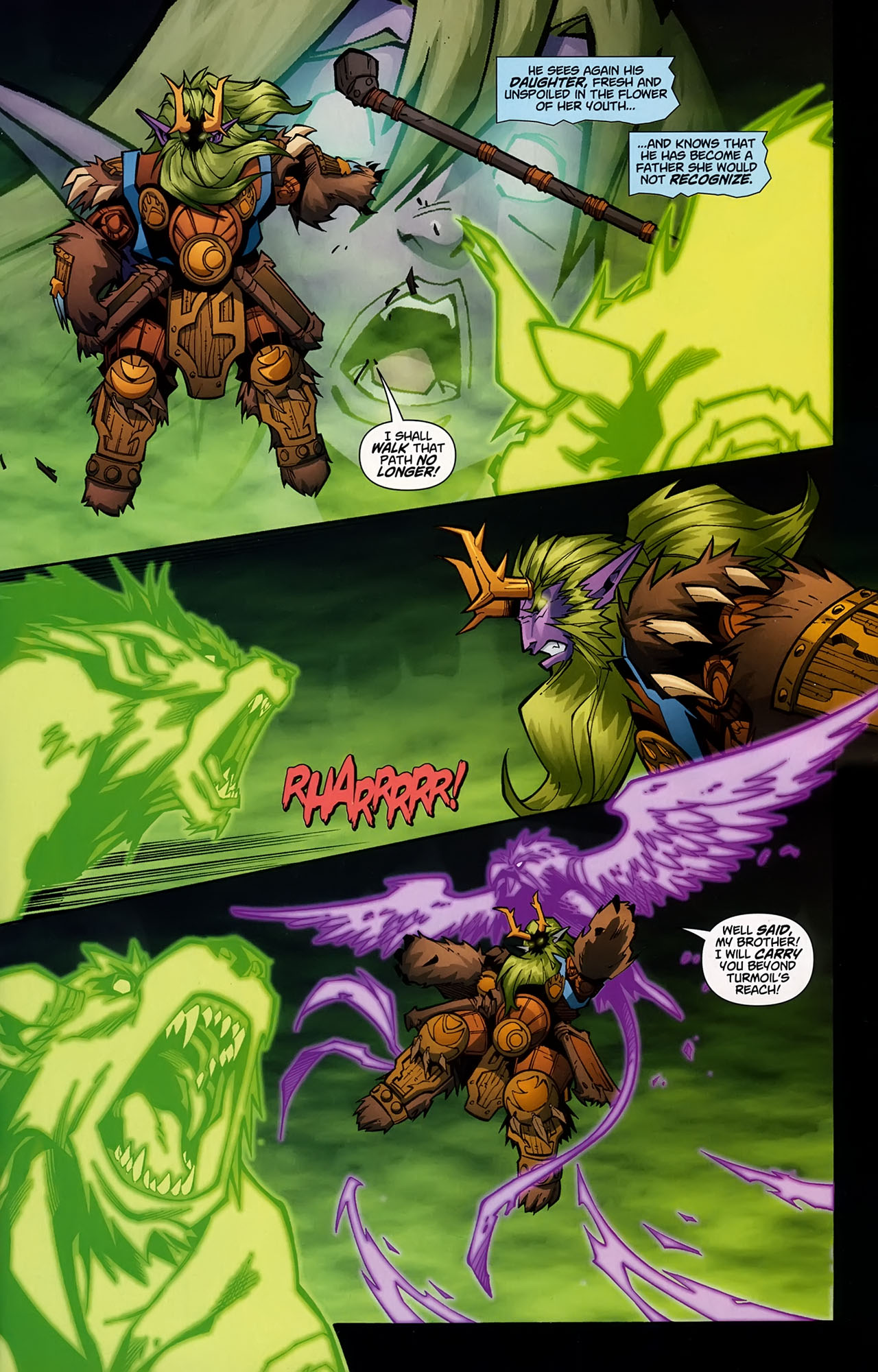 Read online World of Warcraft comic -  Issue #5 - 18