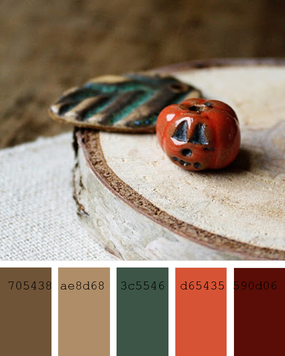 color inspiration, Autumnn and Halloween