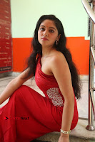 Actress Zahida Sam Latest Stills in Red Long Dress at Badragiri Movie Opening .COM 0116.JPG