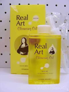 embalagem do óleo de limpeza Real Art