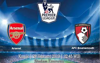 Prediksi Arsenal Vs AFC Bournemouth 28 Februari 2019