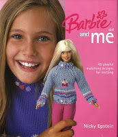 Roupa de Tricô Para Barbie e Para Menina