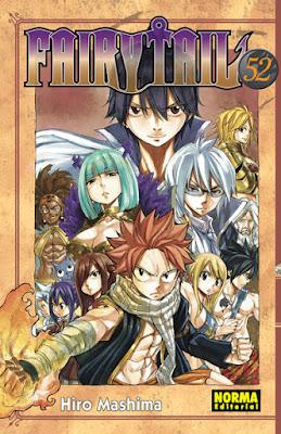"""Fairy Tail"" vol. 52 de Hiro Mashima"