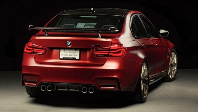 BMW M3 30 Years American Editionse xuat hien trong trien lam xe do SEMA