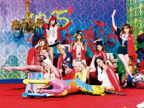 Foto SNSD (Girls Generation) di Album Terbaru I Got A Boy