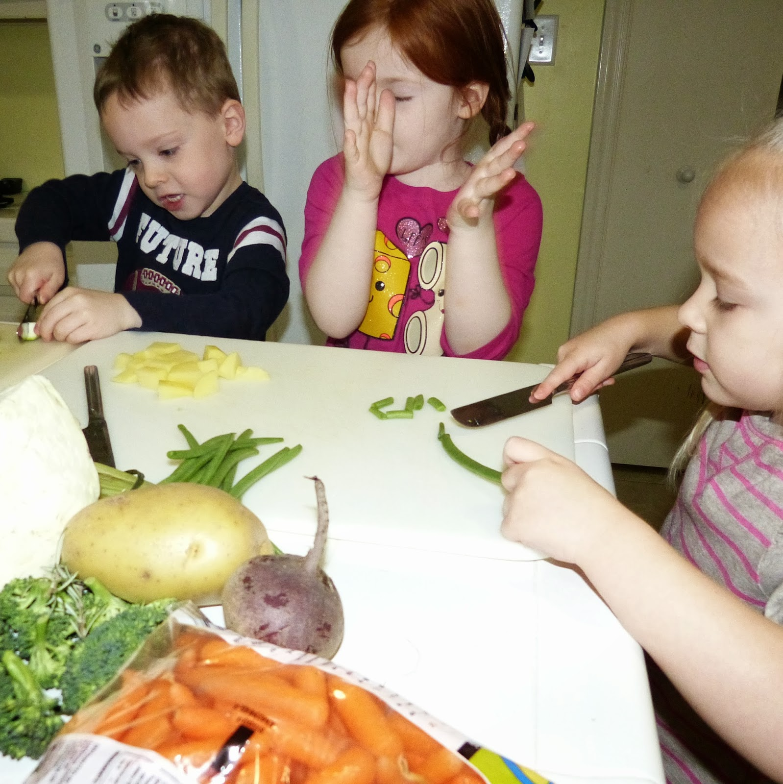 Hands on learning ideas with vegetables: math, science, fine motor, cooking and more!