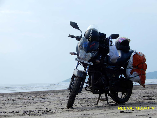 Mumbai to Diveagar Motorcycle Riding Trip
