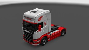 POLAND Skin for Scania Streamline