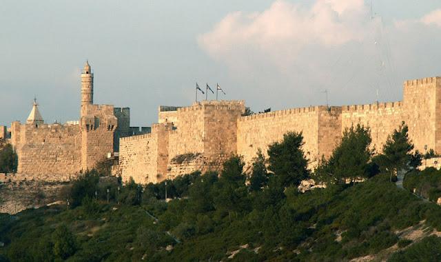 Gambar Tembok Kota Yerusalem