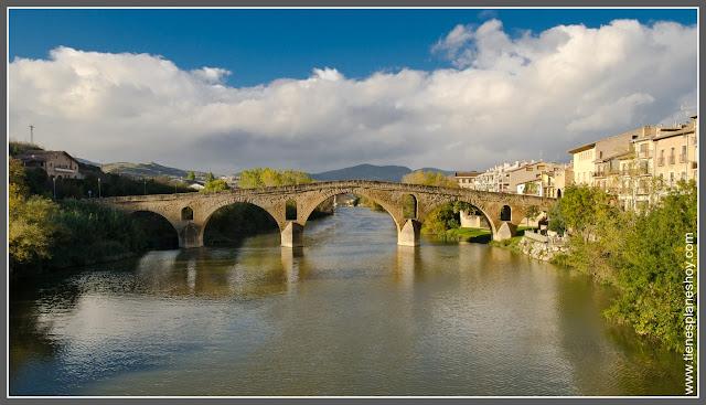 Puente románico de Puente la Reina