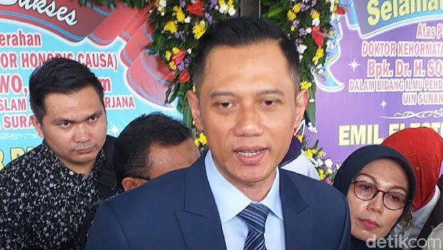 Ditanya Dukungan Prabowo-Sandi, AHY: Saya Rasa Sudah Diketahui Publik