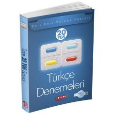Fem YGS Türkçe 20 Deneme Sınavı (2016)