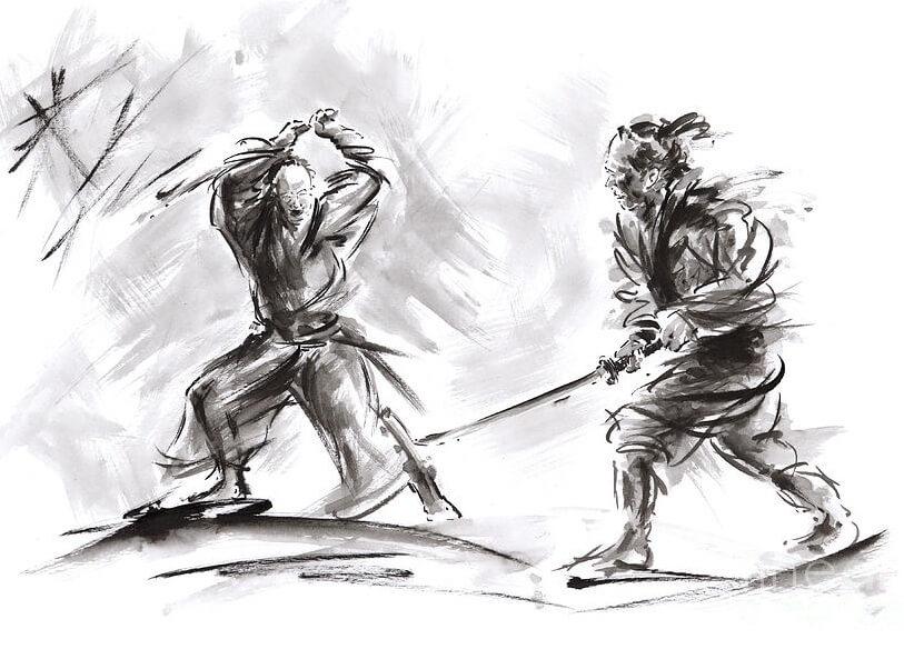 Samurai 1 lawan 1