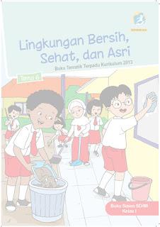 Buku Tematik Kelas 1 Tema 6 Pegangan Siswa