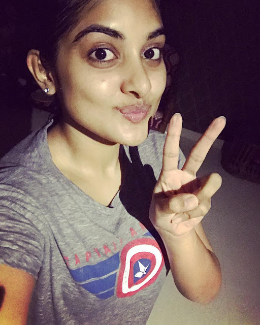Actress Nivetha thomas New Stills