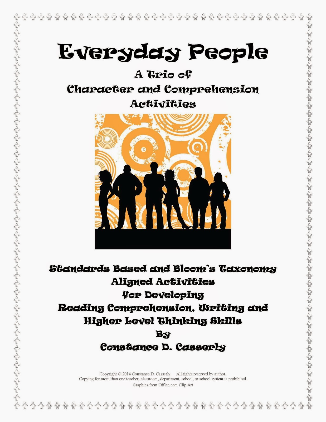 Language Arts Lessons - Everyday People A Trio of Comprehension Activities