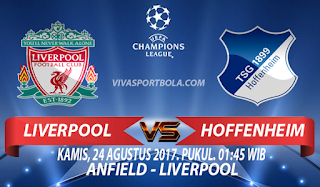 Prediksi Liverpool vs Hoffenheim 24 Agustus 2017