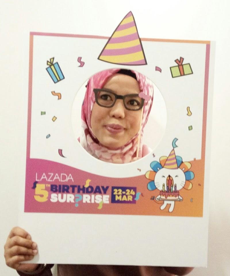 5TH BIRTHDAY LAZADA