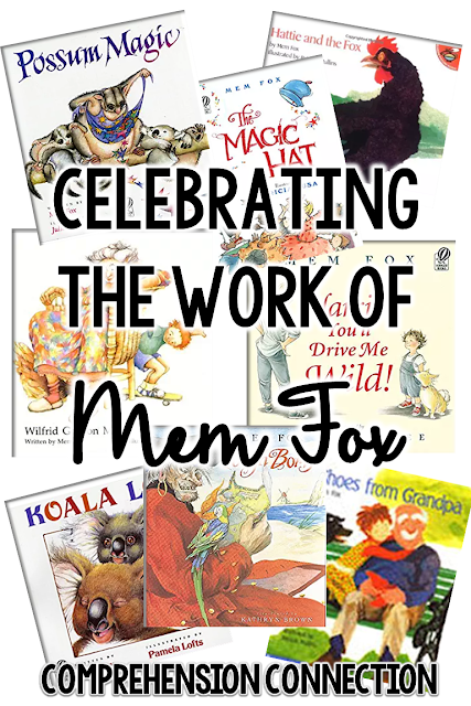 Mem Fox is a fantastic author, and this post includes teaching ideas for her best books.