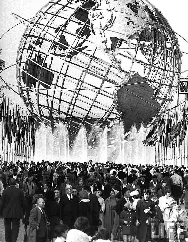 the 1964 New York World's Fair Globe