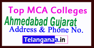 Top MCA Colleges in Ahmedabad Gujarat