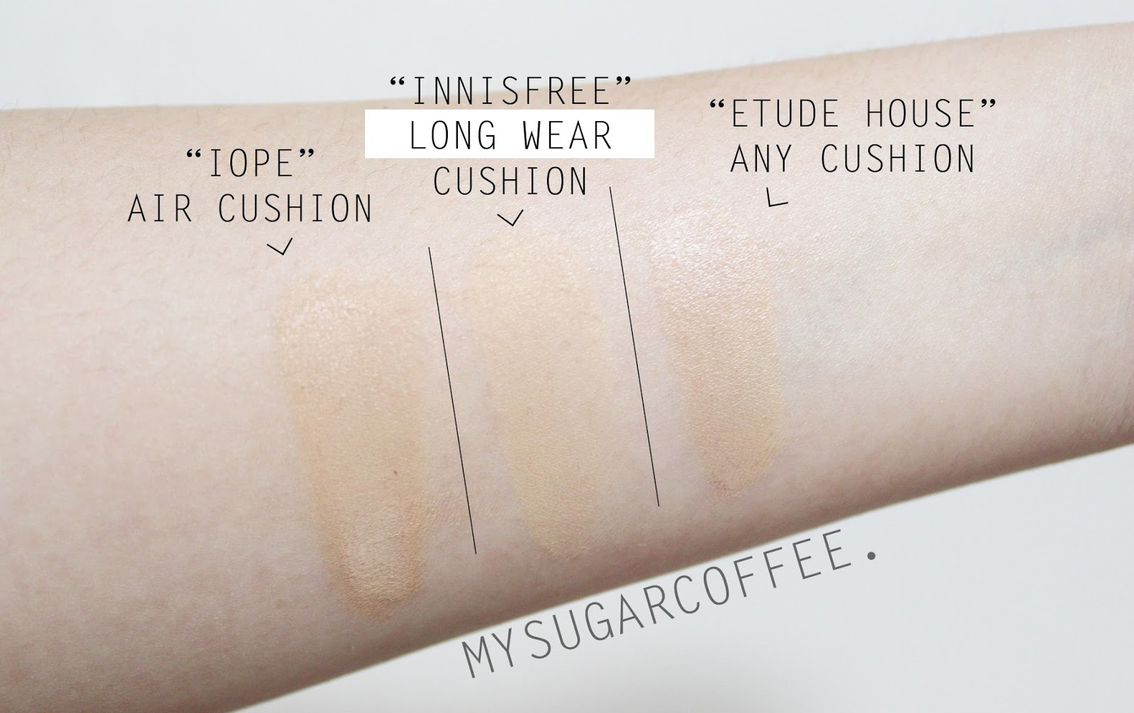 My Sugarcoffee Review Innisfree S Long Wear Cushion