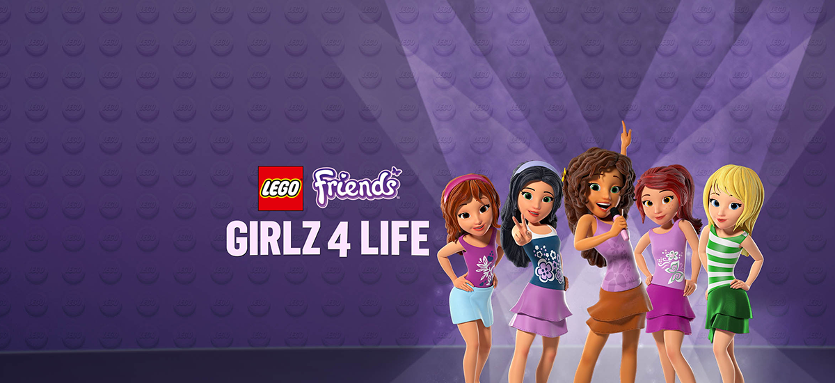 LEGO Friends movie, Girlz 4 Life, LEGO DVD