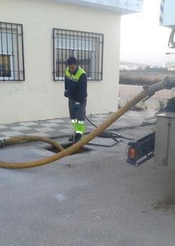 inspeccion tuberías camara desatoros málaga