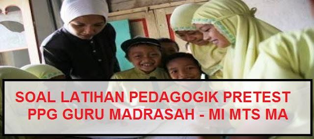 Latihan Soal Pedagogik Pretest Ppg Guru Madrasah Mi Mts Ma Pendidikan Kewarganegaraan Pendidikan Kewarganegaraan