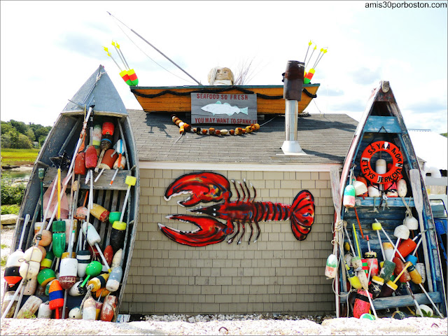 Lobster Shacks en New Hampshire